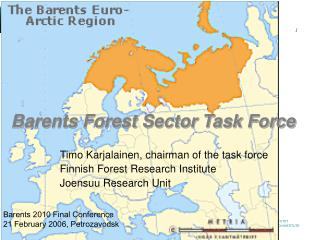 Barents Forest Sector Task Force