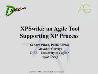 XPSwiki: an Agile Tool Supporting XP Process
