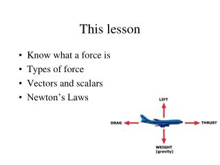 This lesson