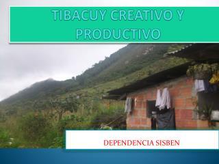 TIBACUY CREATIVO Y PRODUCTIVO