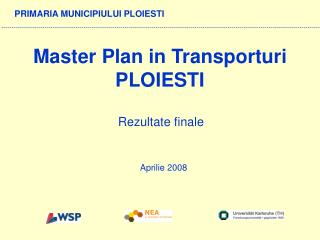 Master Plan in Transporturi PLOIESTI