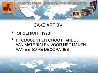 CAKE ART BV