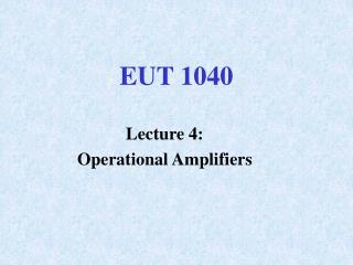 EUT 1040
