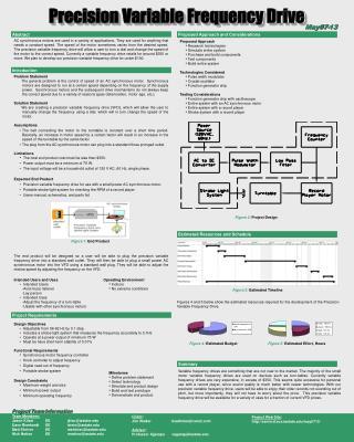 Project Web Site: seniord.ece.iastate