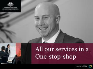 All our services in a One-stop-shop