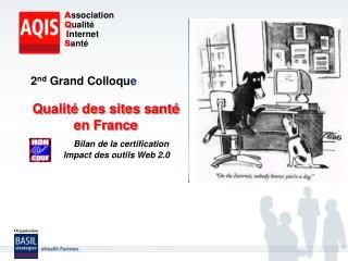 Qualité des sites santé  en France