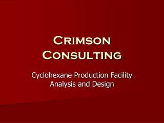 Crimson Consulting
