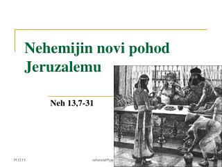 Nehemijin novi pohod Jeruzalemu
