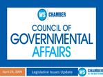 Council of Government Affairs Executive Committee Glenn Cobb - Chairman