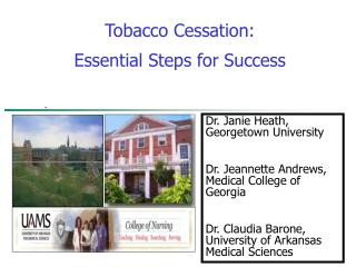 Tobacco Cessation:  Essential Steps for Success