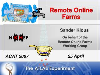 Remote  Online Farms