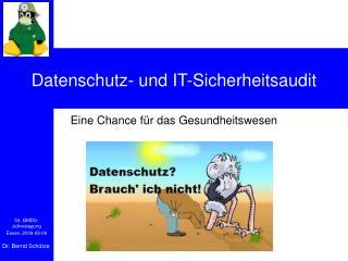 Datenschutz- und IT-Sicherheitsaudit
