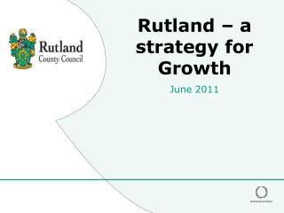 Rutland – a strategy for Growth