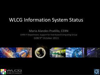 WLCG Information System Status