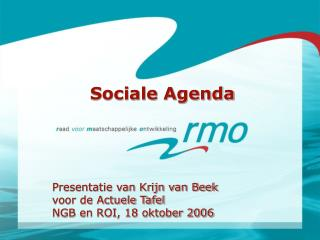 Sociale Agenda