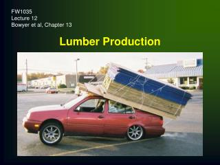 Lumber Production