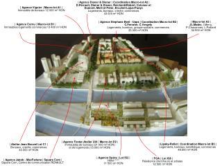 | Agence Viguier | Macro-lot A1 | Immeuble de bureaux 12 000 m� HON