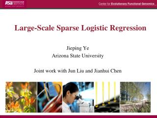 Large-Scale Sparse Logistic Regression