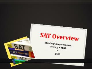 SAT Overview