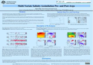Multi-Variate Salinity Assimilation Pre- and Post-Argo