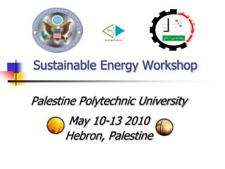 Sustainable Energy Workshop