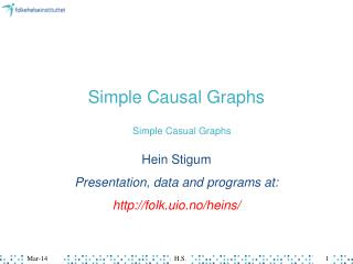 Simple Causal Graphs
