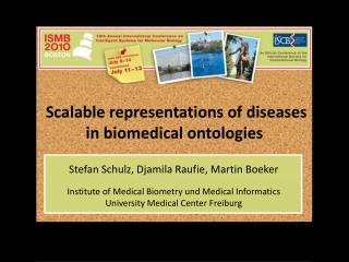 Scalable representations of diseases  in biomedical ontologies