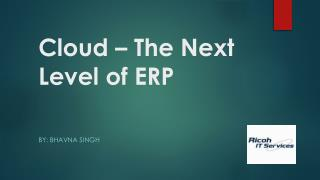 Ricoh Data Center | Cloud - The Next Level of ERP