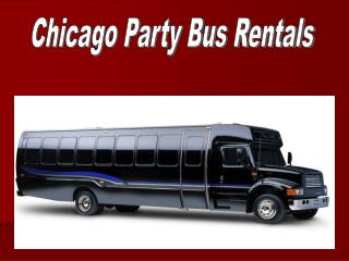 Chicago Party Bus Rentals