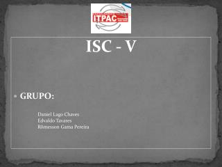 ISC V - Micoses