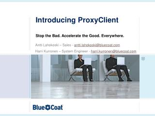 Introducing ProxyClient