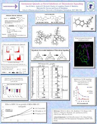 Antitumour Quinols as Novel Inhibitors of Thioredoxin Signalling