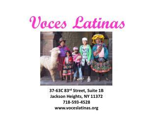 Voces Latinas
