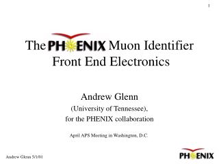 The   PHENIX Muon Identifier  Front End Electronics