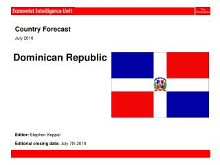 Country Forecast                                                                    July 2010