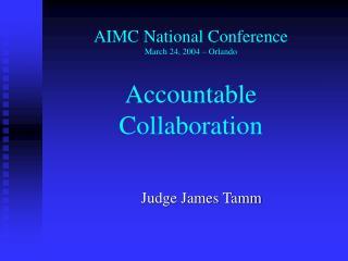 Judge James Tamm