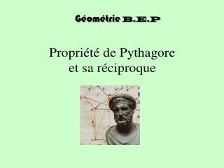 Géométrie B.E.P