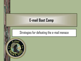 E-mail Boot Camp