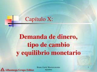 Capítulo X: