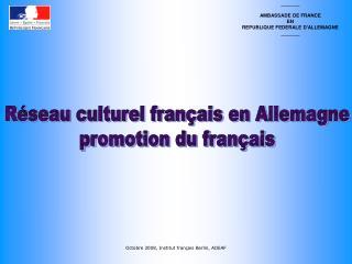 _______ AMBASSADE DE FRANCE EN REPUBLIQUE FEDERALE D'ALLEMAGNE _______