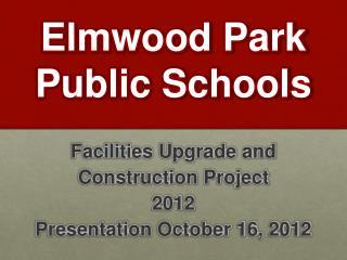 Elmwood Park  Public Schools