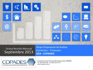 Octava Reunión Mensual  Septiembre 2013