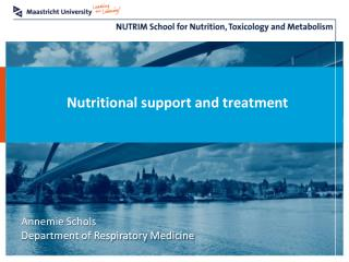 Nutritional support and treatment