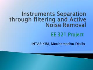 EE 321 Project