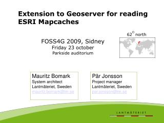 Extension to Geoserver for reading ESRI Mapcaches