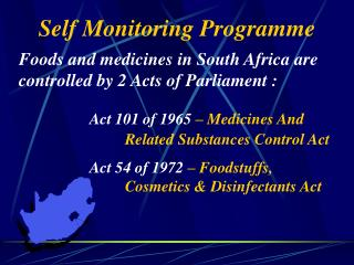Self Monitoring Programme