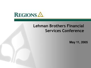Lehman Brothers Financial Services Conference