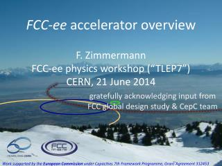 FCC- ee  accelerator overview