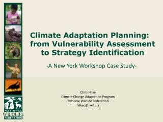 Climate Adaptation Planning: from Vulnerability Assessment to Strategy Identification