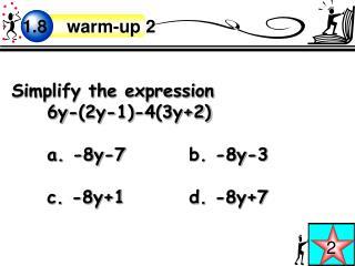 1.8    warm-up 2